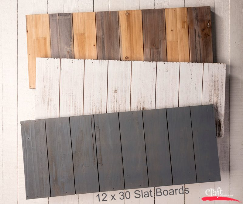 12x30 Slat Boards
