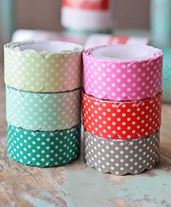 Hazel and Ruby Scalloped Washi Tape