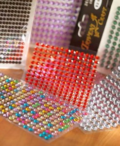 Rhinestone Stickers
