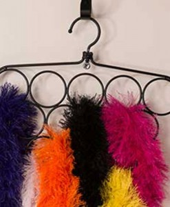 Black Ring Scarf Hanger