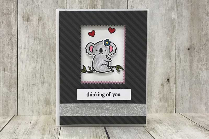 """Thinking of You"" Koala Bear Card"