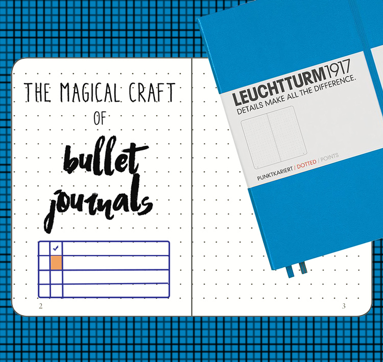 Try a Bullet JOurnal - Learn more about how to start