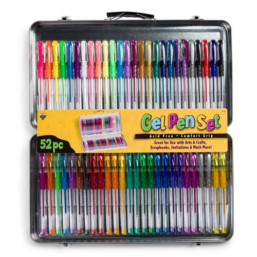 52ct Gel Pen Set