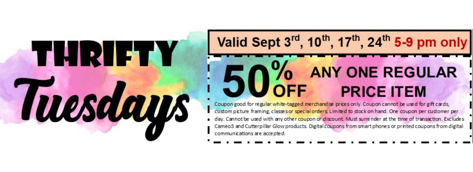 Thrifty Tuesday