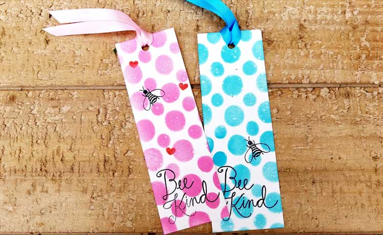 Kid's Craft Day - Back to School Bee Kind Bookmark