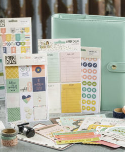 Accessories for the Carpe Diem Planner by Simple Stories