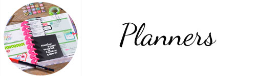 Planners, planner stickers, supplies and art journal supplies at Craft Warehouse
