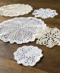 cotton crochet doiley