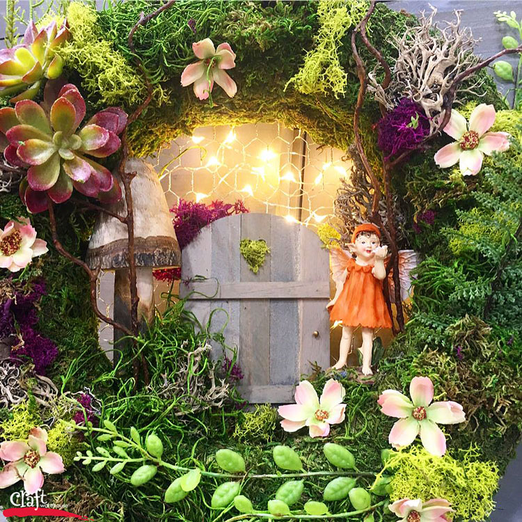 Make this  Floating Fairy Garden   Craft Warehouse