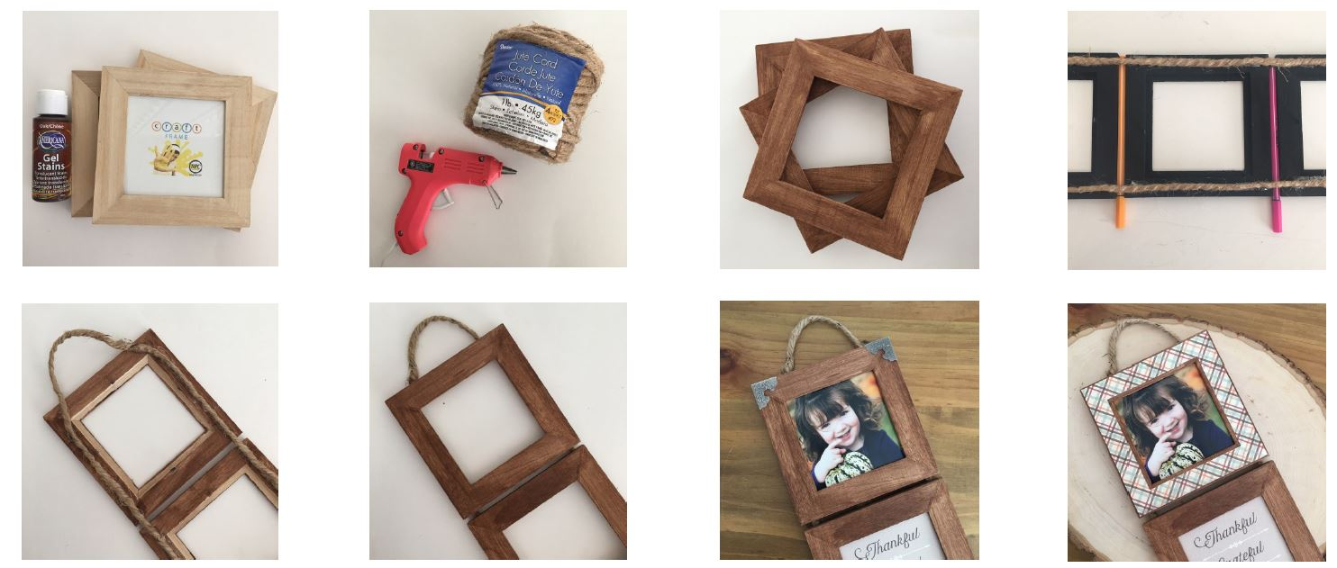 Make a Trio Wall Hanging with Craft Warehouse
