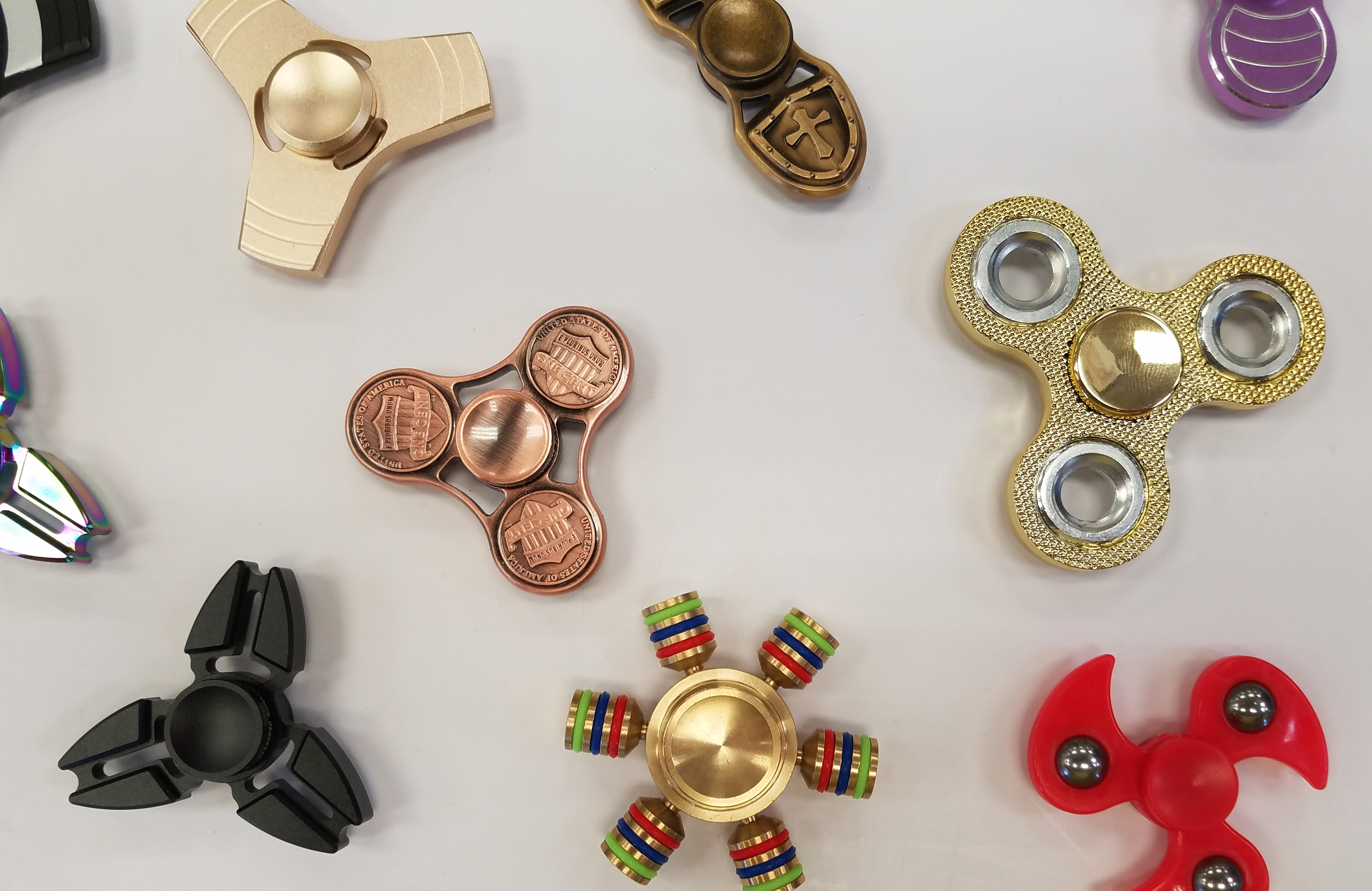 New Metal Spinners at Craft Warehouse