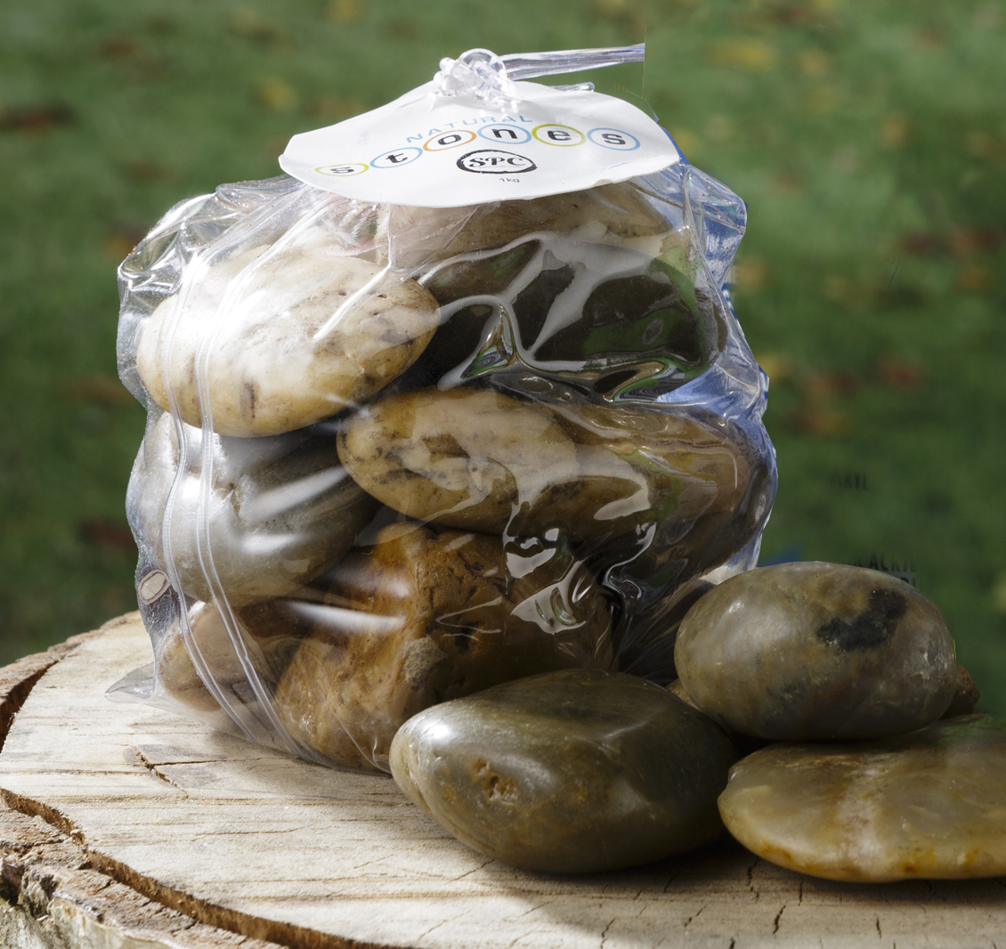 River rocks for painting or floral display projects at for River rock craft ideas