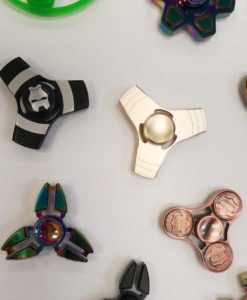 Copper Penny and Metal Spinners at Craft Warehouse