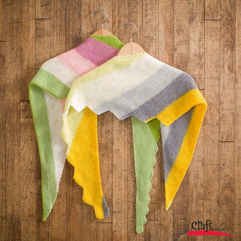 Triangle Scarves - Free Pattern