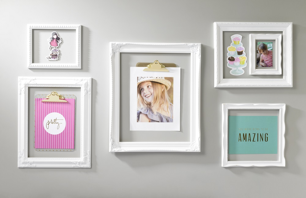 Wall Art Frames white open frame trendy wall art | craft warehouse