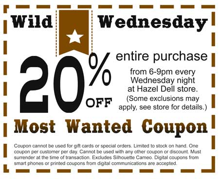Wild Wednesday @ Hazel Dell Location | Vancouver | Washington | United States
