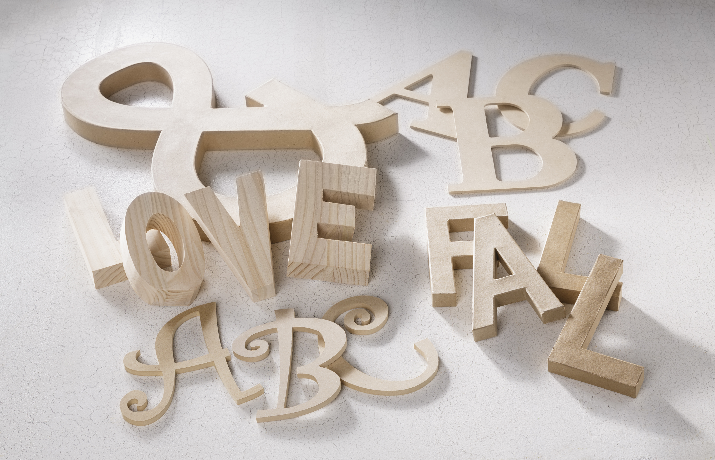 Wood Letters Craft Warehouse